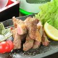 料理メニュー写真イベリコ豚の岩塩焼き