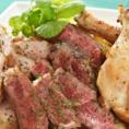 お肉を使ったメニューもご用意しております◎美味しいお肉が食べたい!そんな日には是非≪こるく両国≫をご利用ください★