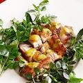 料理メニュー写真ローストチキンのローズマリー風味のポテト