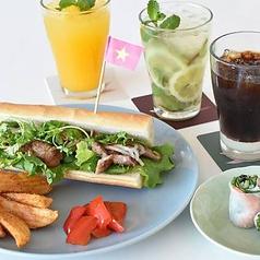 バインミーセット グリルポークと野菜たっぷりベトナムサンドイッチ