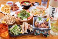 沖縄県産食材の沖縄料理を堪能☆
