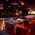 卓球台は4台(最大6台)。皆様で楽しめます☆