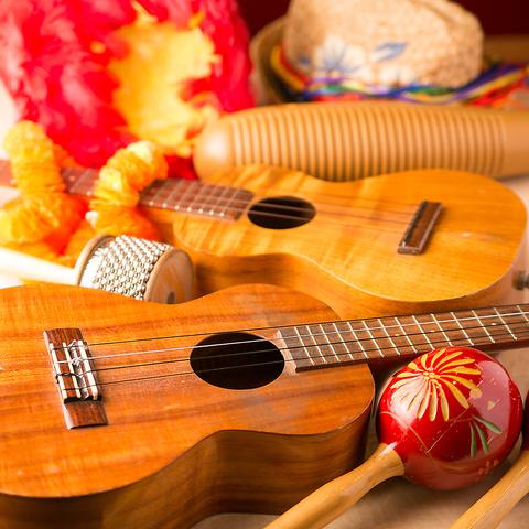 楽器を豊富にそろえたサウンドハウス♪バンド利用も生演奏のカラオケも!