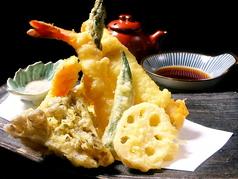 天ぷら盛り合わせ 3種盛り