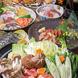 鹿児島県産や市場直送など、食材にこだわっております。