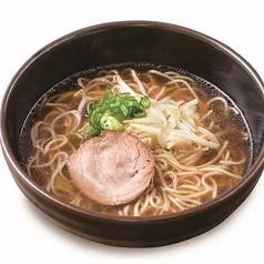中華そば 醤油スープ