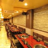 上上品 焼肉 しゃぶしゃぶ 新宿東口店の雰囲気3
