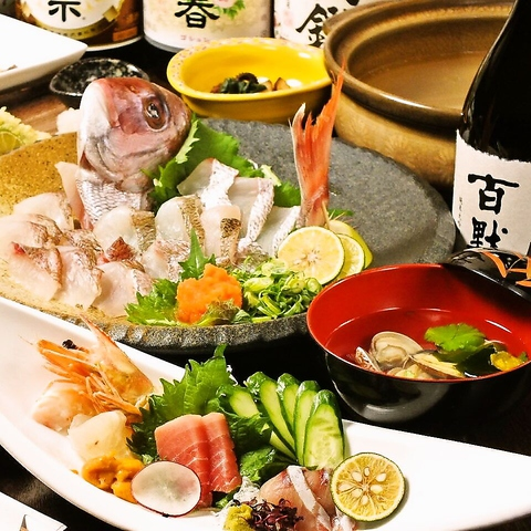 リーズナブルに旬の素材を味わえる各種宴会コースはおすすめ!