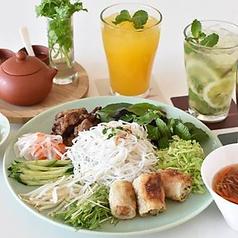 ブンチャジョーセット 野菜いっぱいベトナムつけ麺