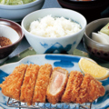 料理メニュー写真【黒豚】ロースかつ膳 中(160g)