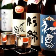 日本酒、焼酎などドリンクも豊富にご用意しております