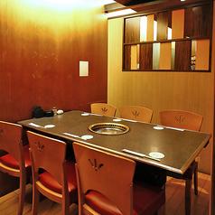 2名様~6名様まで!ゆったりとした空間でカジュアルさが魅力のテーブル個室は普段使いや少人数飲み会におすすめ!