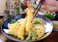 天ぷら盛り合わせ 8種盛り