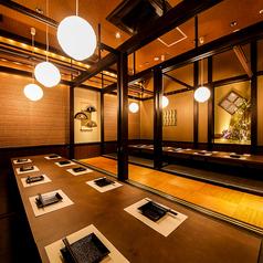 産直鮮魚と個室 葉隠 心斎橋店の雰囲気1