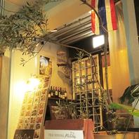 渋谷の裏通り☆大人の隠れ家レストランで特別な時間を。