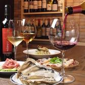 会社帰りのプチ飲み会や女子会に最適の4名様用テーブル席もございます。広々使えるテーブルで、ワイワイ美味しい牡蠣とお酒をお楽しみ頂けます。テーブル席は一席のみなので、ネット予約での早めの予約をオススメ致します。