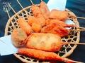 料理メニュー写真串カツ(単品31種類)