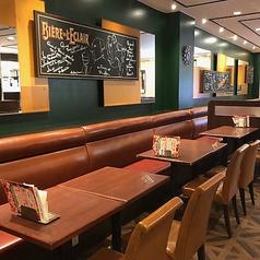 明るく広い店内は、ご家族、ご友人とのお食事に最適です☆バラエティ豊かな本格イタリアンやスイーツをお腹一杯お召し上がりください!