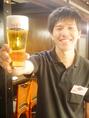 ミズウチくんおすすめの【サンライズコールド(白トップ)】 ドライブラックエクストラコールドより少し「スッキリ感」が欲しいお客さまは、ドライブラックにスーパードライの泡を付けた「白トップ」をお試しください。※時間の経過で泡とビールの間に美しい透明な撰が浮き出ます。