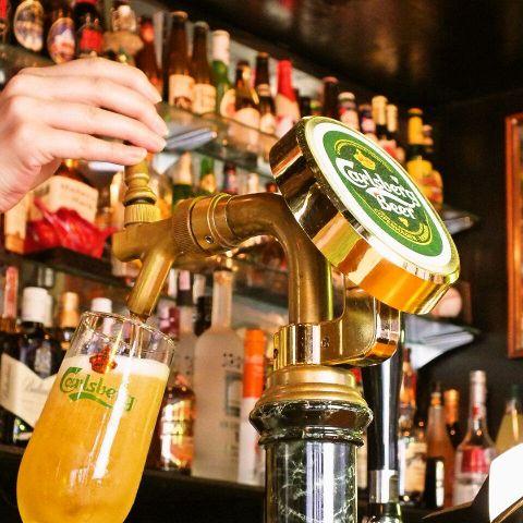 こだわり抜いたビールサーバーから注がれるビールは『最高!!』の一言♪