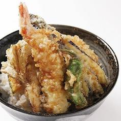特製天丼(エビ天1匹と野菜天4品)