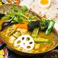 料理メニュー写真カキと鱈の和風スープカレー
