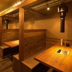 間仕切り付きテーブル席は接待やデートでもご利用いただけます。