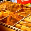 料理メニュー写真大根/ごぼ天/ちくわ/たまご/つくね/がんも/卵巻き/ばくだん/焼き豆腐/※各種1品の料金です
