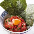 料理メニュー写真海鮮ユッケ丼