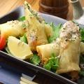 料理メニュー写真ササミとチーズの春巻