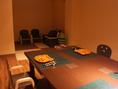 お座敷個室にはキッズスペースあり。ランチタイムはお子様連れのみのご利用となります。