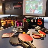 結婚式の二次会利用もOK!楽しく卓球♪ダブルスなんかも盛り上がります。卓球以外にも皆で楽しめるパーティグッズもご用意。