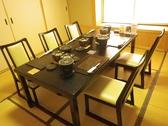 レイアウト変更もできるお座敷席。8名様個室と6名様室。テーブル利用も8名様席と6名様席でご利用可能です。お部屋を広げると最大20名様のご宴会も承ります。