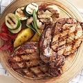 料理メニュー写真黒豚の炭火焼きステーキ
