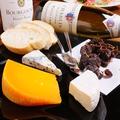 料理メニュー写真チーズの盛り合せ3種