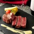 料理メニュー写真極上牛ステーキ150g