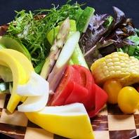 鮮度を感じる地野菜