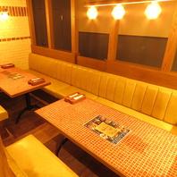 【新浦安駅2分】ゆったり寛ぎのソファ席♪個室も完備!