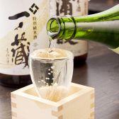 日本酒は酒通も納得の品ぞろえ!