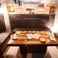 【2階】個室VIPルーム★人気の個室です♪5~8名様まで入れます♪テーブルを囲う個室になりますのでご了承ください。宴会やお誕生日会にも大人気(*^_^*)ご予約はお早めに!!
