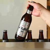 スタンド席からはお手軽にビールを♪