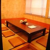 落ち着いて飲める完全個室です。