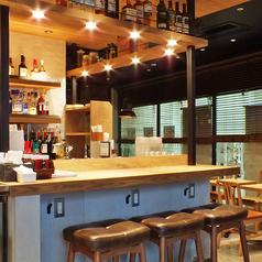 カウンター席でサク飲みはいかがですか♪おひとり様でもご利用になりやすいお席をご用意しております♪武蔵浦和駅でのちょい飲みにぜひご利用ください♪