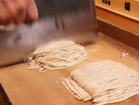 老舗総本家橋本の歴史ある伝統のお蕎麦をコースで。
