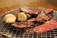 【炭火七輪で焼く】焼肉お店特製のタレで召し上がれます