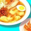 料理メニュー写真海老ワンタン麺/チャーシュー麺/広東麺