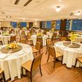 広々個室【ヨコハマ】5部屋に分けることが出来、最大で立食300名様まで収容できる大個室。ご宴会に、ウェディングに、2次会に・・・大宴会に最適なスペースです(カラオケ付き)300名様まで・1室10800円~54000円・禁煙席