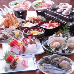 海鮮網焼き 焼はまぐり 浜茶屋 網元の写真
