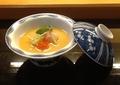 料理メニュー写真魚介入り、茶碗蒸し
