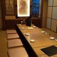 大型宴会にピッタリ☆掘りごたつタイプの大型個室です。※写真は系列店